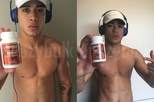 hgh x2 before and after